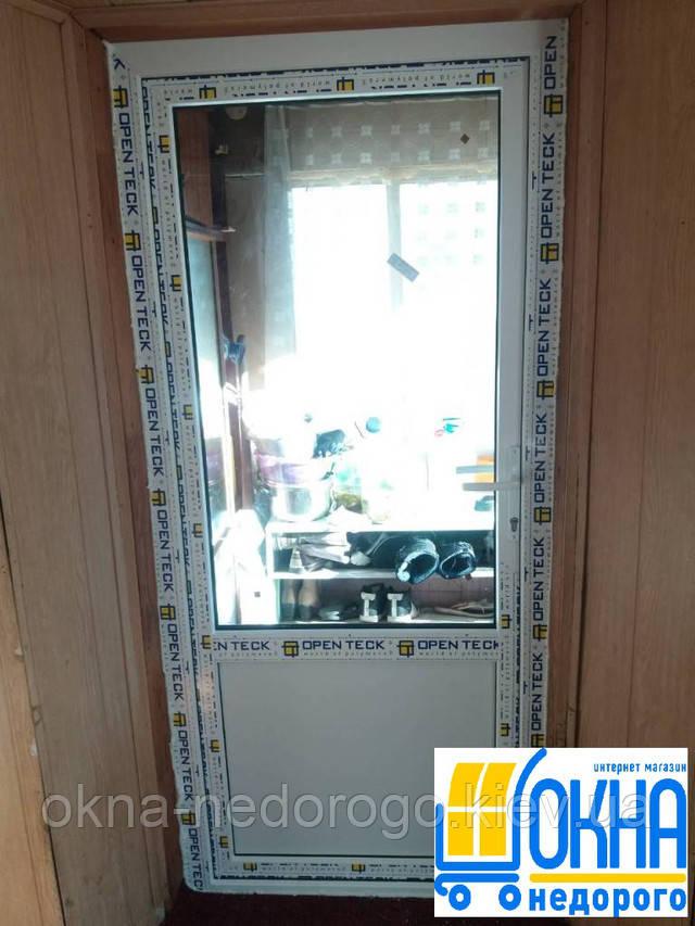 Пластиковая входная дверь OpenTeck