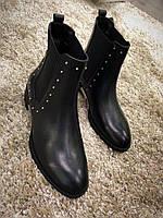 Эксклюзивные ботиночки с металлическими вставками, фото 1