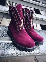 Зимние ботинки в стиле Balmain , фото 1
