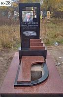 Гранитный памятник (Образец 881)