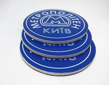 Круглые виниловые фотомагниты на холодильник. Диаметр 68 мм 4