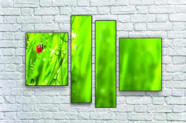 "Модульна картина ""Трава"""