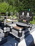 Памятник из гранита двойной (Образец 884), фото 2