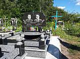 Памятник из гранита двойной (Образец 884), фото 3