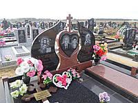 Памятник гранитный для двоих (Образец 887)