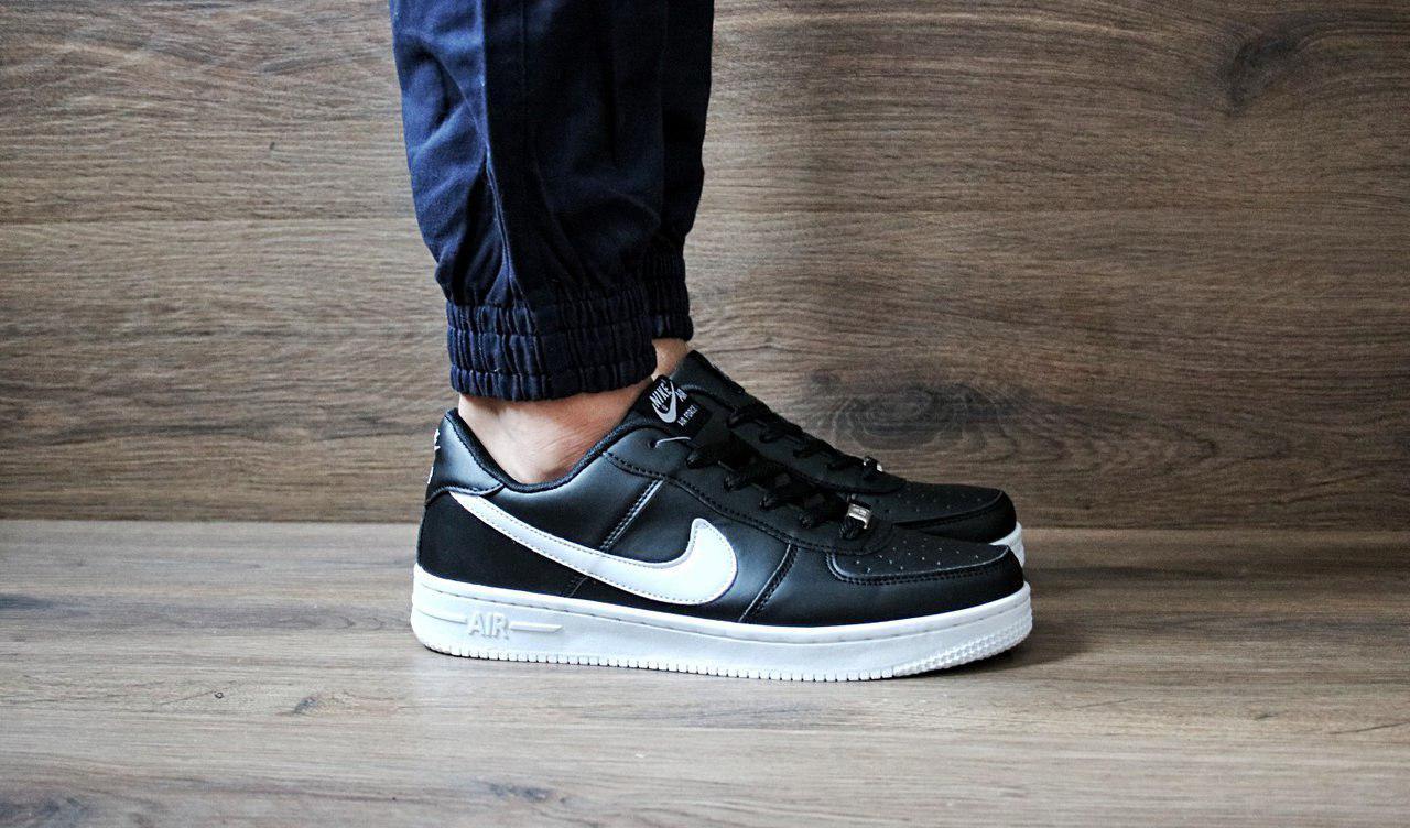d38f7c99 Мужские кроссовки nike Air Force Black низкие реплика - Интернет-магазин  спортивной одежды и обуви
