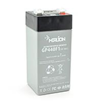 Аккумуляторная батарея MERLION AGM GP44M1 4 V 4 Ah ( 47 x 47 x 100 (105 ) ) Q30