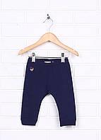 Штанишки детские ZARA babygirl цвет синий размер 6/9months арт 9805/550/401