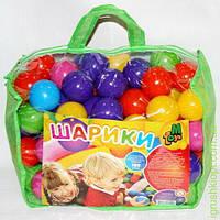 Шарики в сумке 100 шт, мягкие, M.Toys
