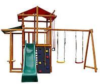 Детский игровой комплекс Babyland-7 + горка и сервисное обслуживание