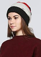 Шапка женская DIESEL цвет черно-бело-красный размер Универсальный арт 00SCH0-0IAF0-41U