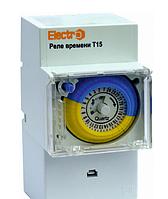 Таймер добовий Т15 електромеханічний 16А 230В
