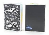 Обложка виниловая на паспорт Джек Дениелс 157-155361
