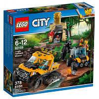 Конструктор LEGO City Миссия Исследование джунглей (60159)