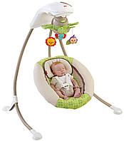 """Укачивающий центр или качели для младенцев  Fisher-Price """"Лесные друзья"""", фото 1"""