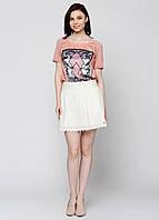 Юбка женская Maison Scotch цвет слоновая-кость размер XS арт 1521-04.89712