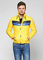 Пуховик мужской Antony Morato цвет желтый размер 44 арт 58475124