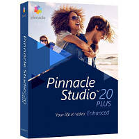 ПО для мультимедиа Corel Pinnacle Studio 20 Plus ML RU/EN for Windows (PNST20PLMLEU)