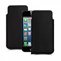 Футляр Stenk Elegance для Apple iPhone 5SE Чёрный (55607)