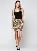 Юбка женская Maison Scotch цвет тигровый размер S арт 1421-01.89.808