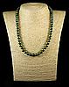 Бусы из гематита,8мм зеленого цвета