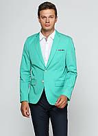 Пиджак мужской Scotch & Soda цвет зеленый размер L арт 1401-02,30010