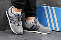 Мужские кроссовки Adidas Neo серые 2748