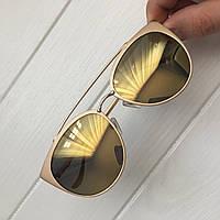 Очки женские от солнца Chrome hearts пудровые