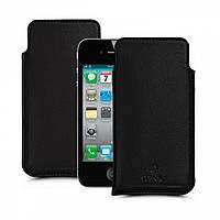 Футляр Stenk Elegance для Apple iPhone 4S Черный