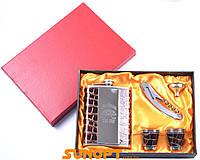 Подарочный набор с флягой для мужчин Jim Beam 5х1 №039A