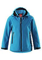 Демисезонная куртка для мальчика из материала Softshell Reima Zayak 531281-6490. Размеры 116-146., фото 1