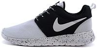 "Женские кроссовки Nike Roshe Run One ""White/Black"""