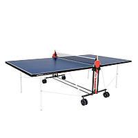 Теннисный стол для помещений синий Donic Indoor Roller FUN для дома и спортзала с доставкой, Киев