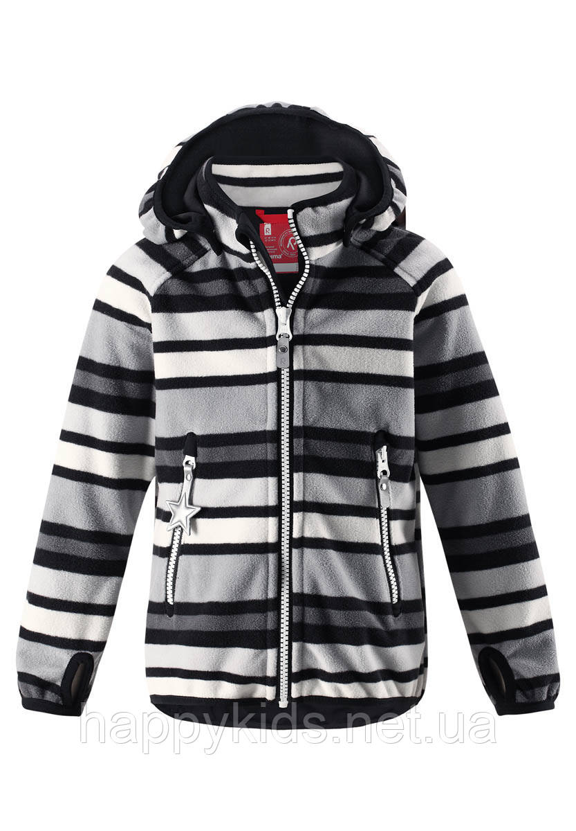 Куртка демисезонная для мальчика Reima 521518-9991. Размеры 104-140.
