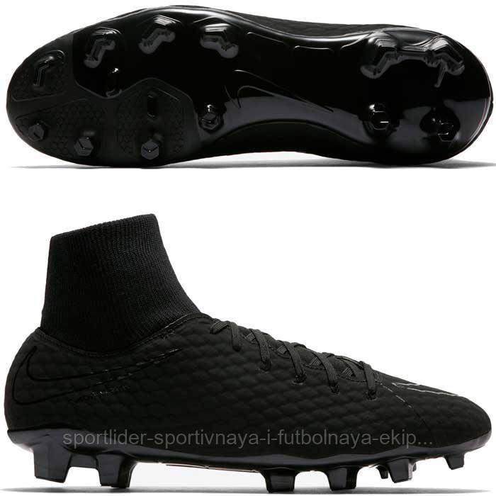 4ded37bc7 Футбольные бутсы Nike Hypervenom Phelon III DF FG 917764-001 - Спорт-Лидер