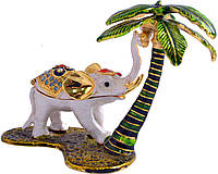 Шкатулка ювелирная Слон под пальмой QF2909-003