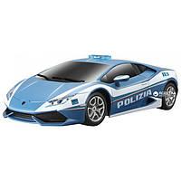 Игровая автомодель Lamborghini Huracan LP 610-4 Polizia синий (свет. и звук. эф.), М1:24, 2шт. бат.