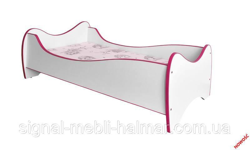 Детская кровать DUO (розовый) (Halmar)