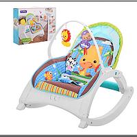 Шезлонг-качалка Sun Baby Jungle 88956