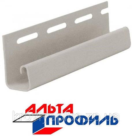 Отделка фасадов ...Сайдинг Альта Профиль Планка J-trim, фото 2