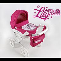 Коляска для кукол Adbor Lily White, фото 1
