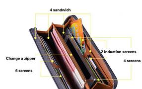 Стильный клатч портмоне, фото 2