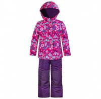 Комплект зимний, куртка и комбинезон Gusti 3163 SWG цвет фиолетовый