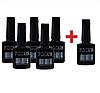 Набор Цветной гель-лак для ногтейов Focus 5+1 в подарок