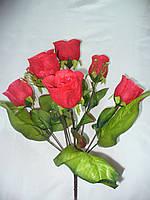 Букет роз королева(10 шт в уп) ,50см