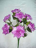 Букет роз радость (10 шт в уп) ,50см