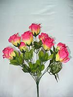 Букет роз прелесть (12 шт в уп) ,50см