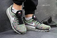 Кроссовки Nike Flyknit Max цветные 2394