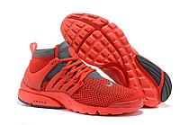 Кроссовки мужские Nike Air Presto Ultra Flyknit красные 0015