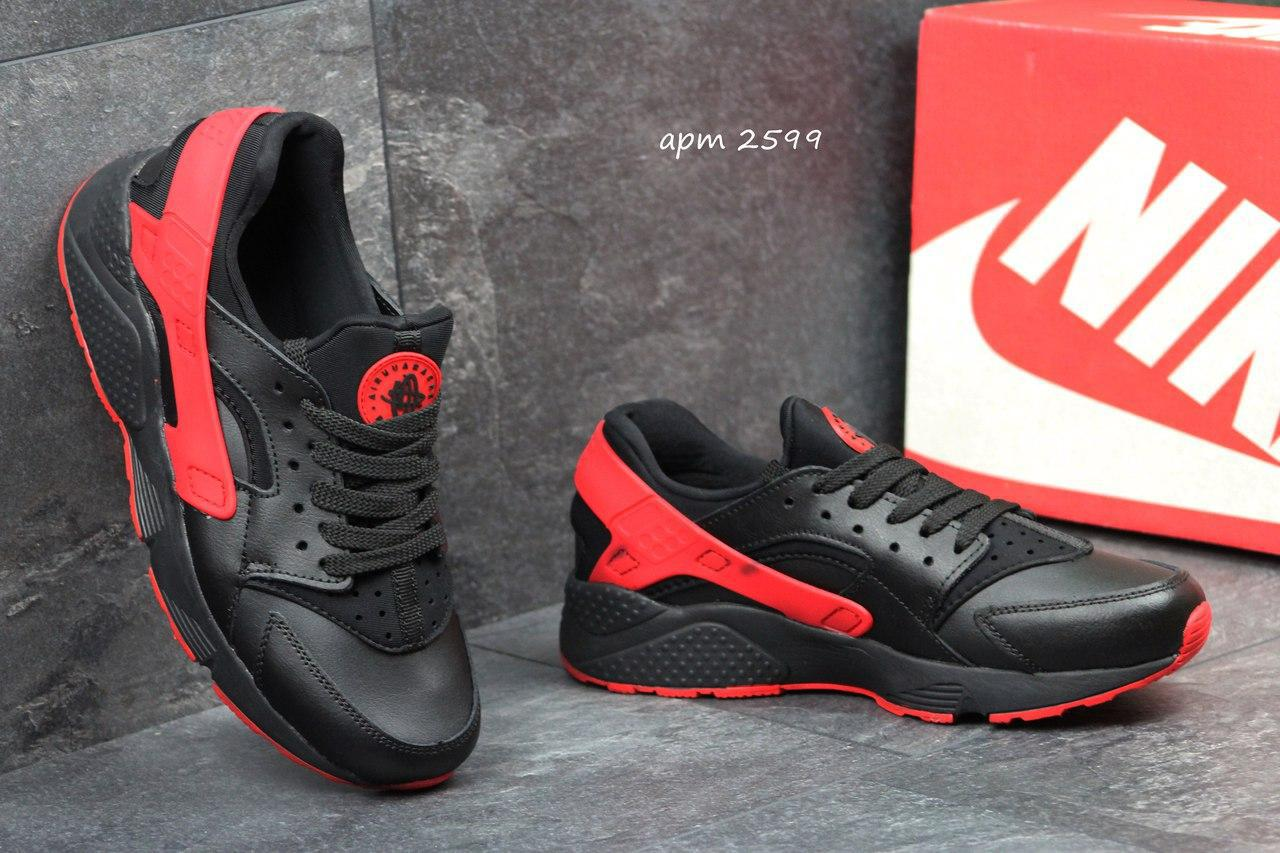 8ade437e BT.Yavshoke.ua™ | Мужские кроссовки Nike Huarache черные с красным ...